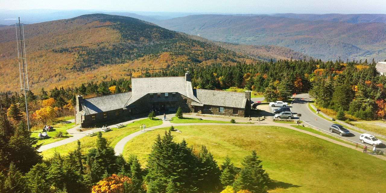 Bascom Lodge atop Mount Greylock