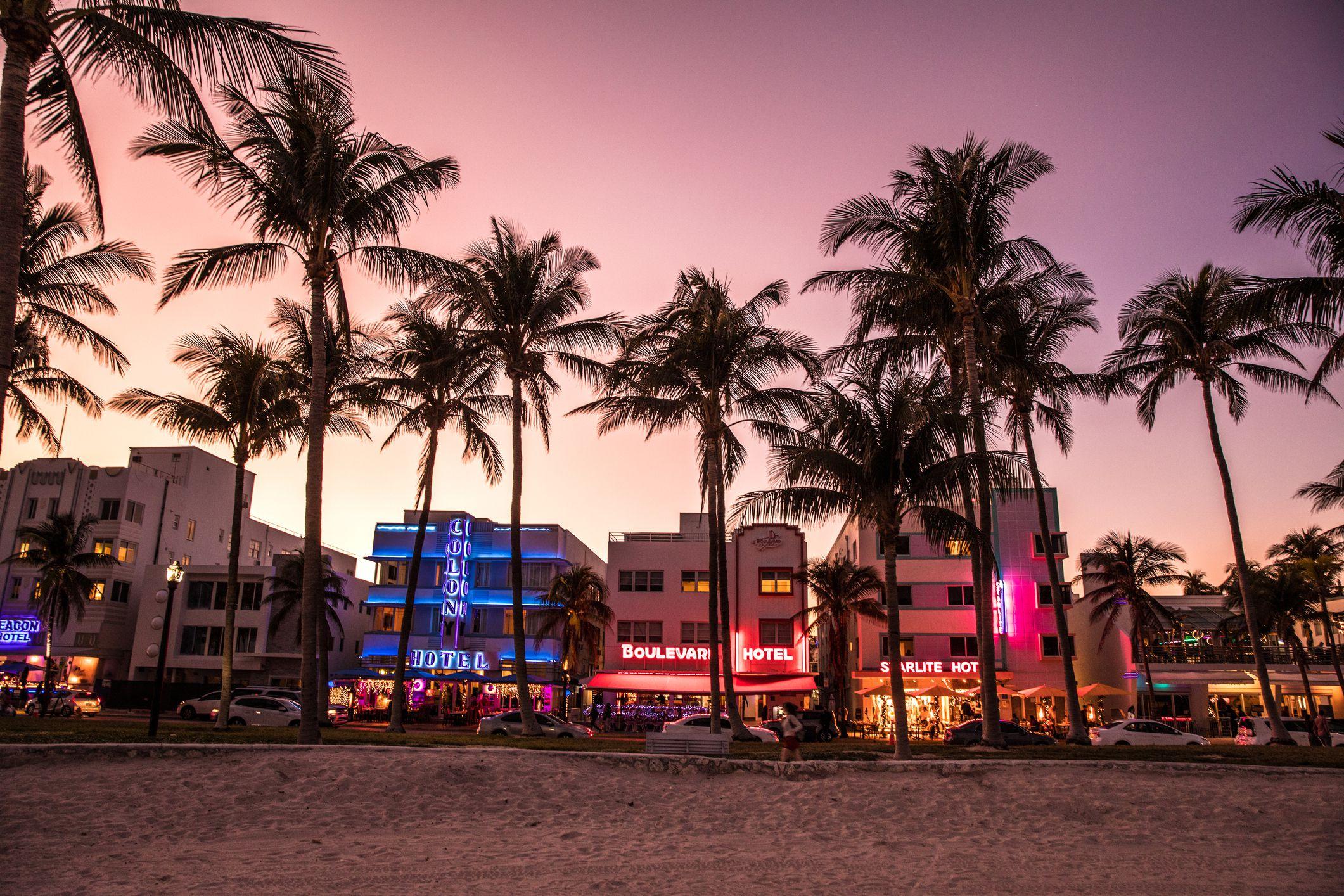 South Beach, Miami, Florida