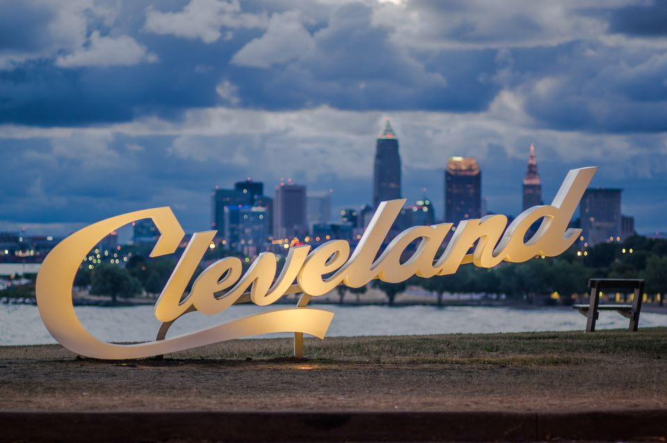 Three beautiful signs were installed around the city, this is the one in Edgewater Park.
