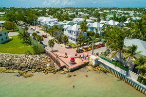 Aerial scenic Key West Florida photo