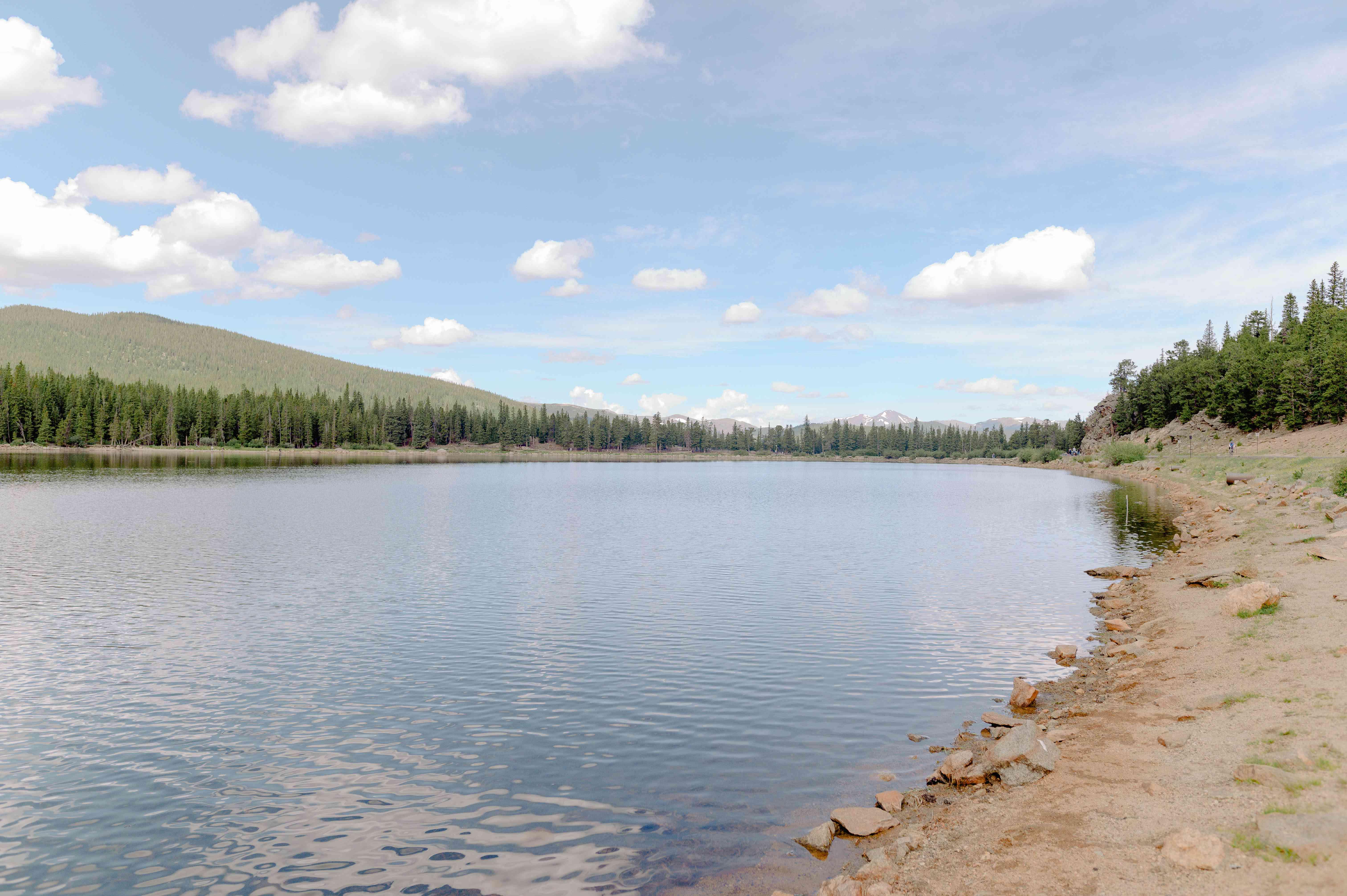 Echo Lake in Denver, Colorado