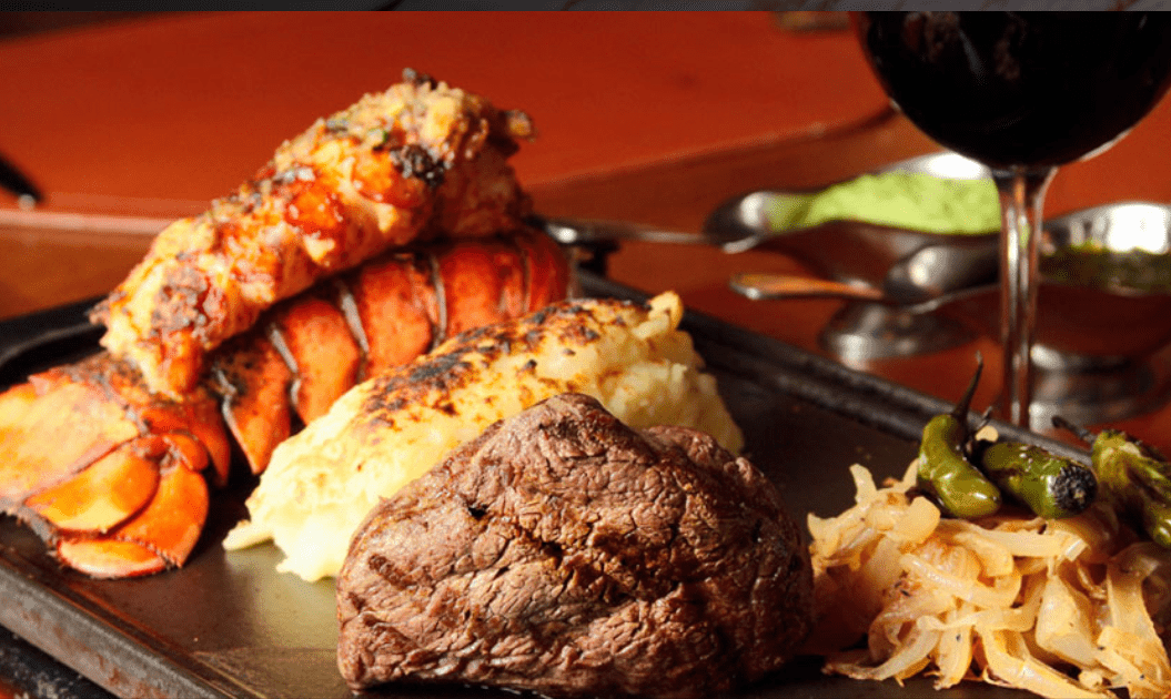 Surf & Turf at Puerto Madero Restaurant in Cancun