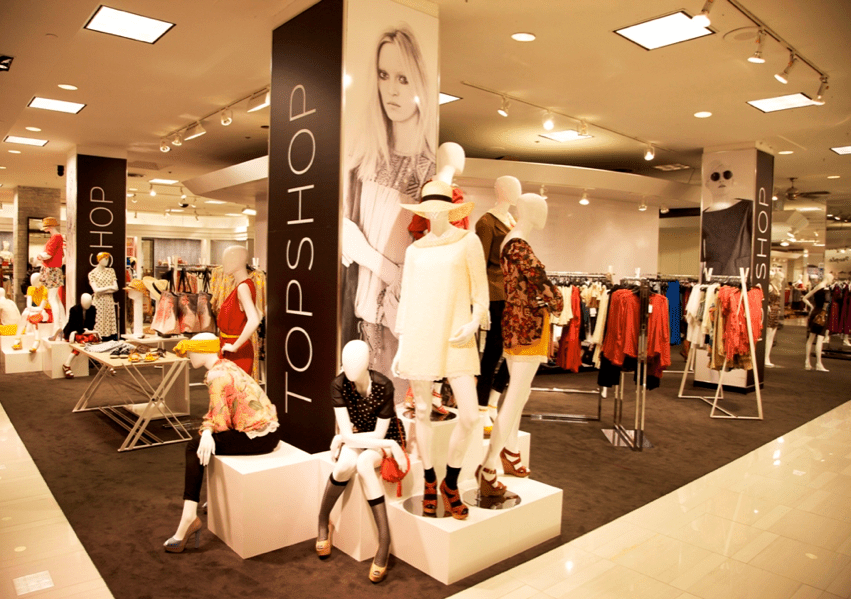 Topshop & 'The Room' Make the Downtown Bay Destination Shopping