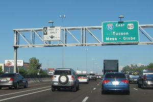 HOV Lane in Phoenix