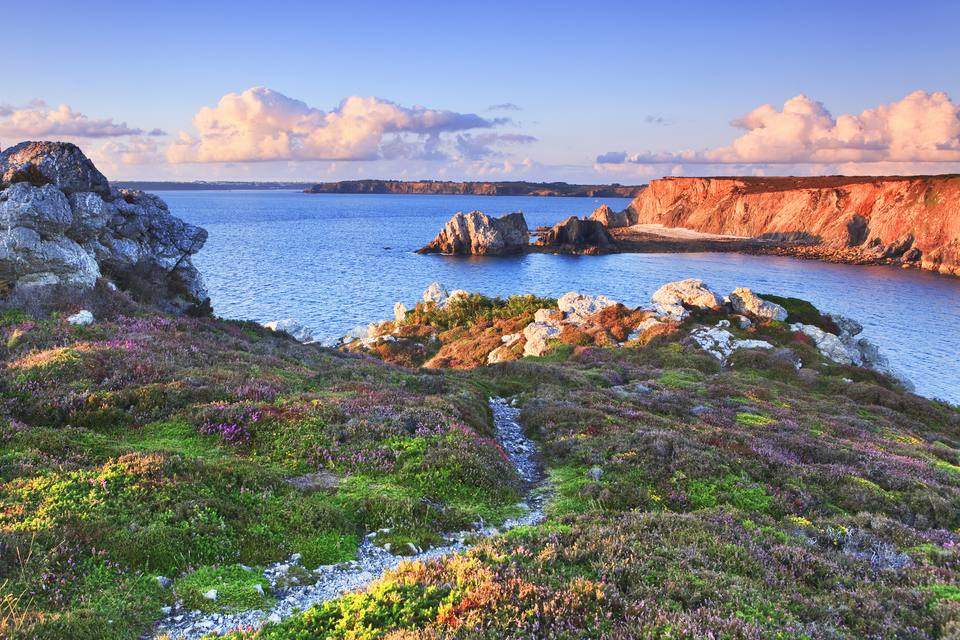 Finistere in Brittany, France