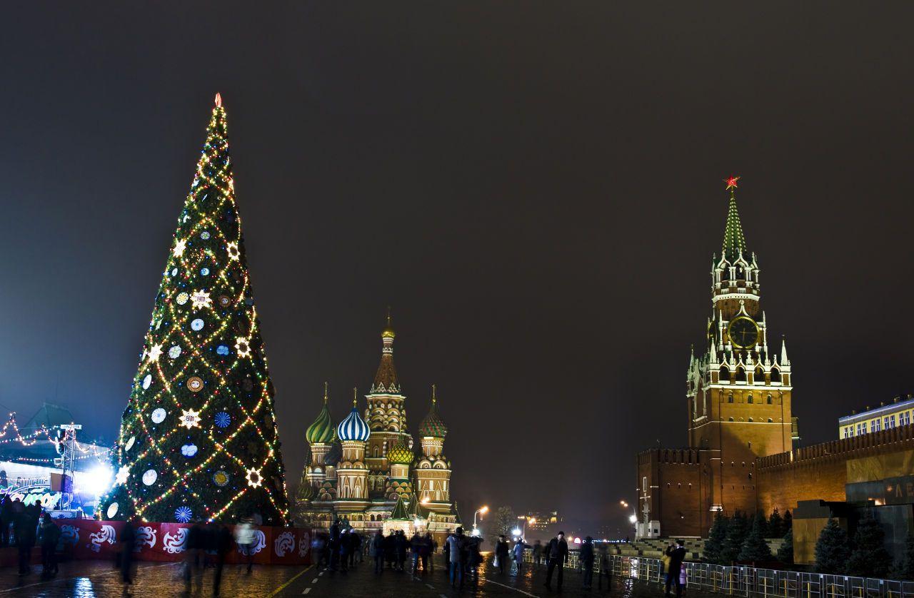Weihnachtsbaum Moskau