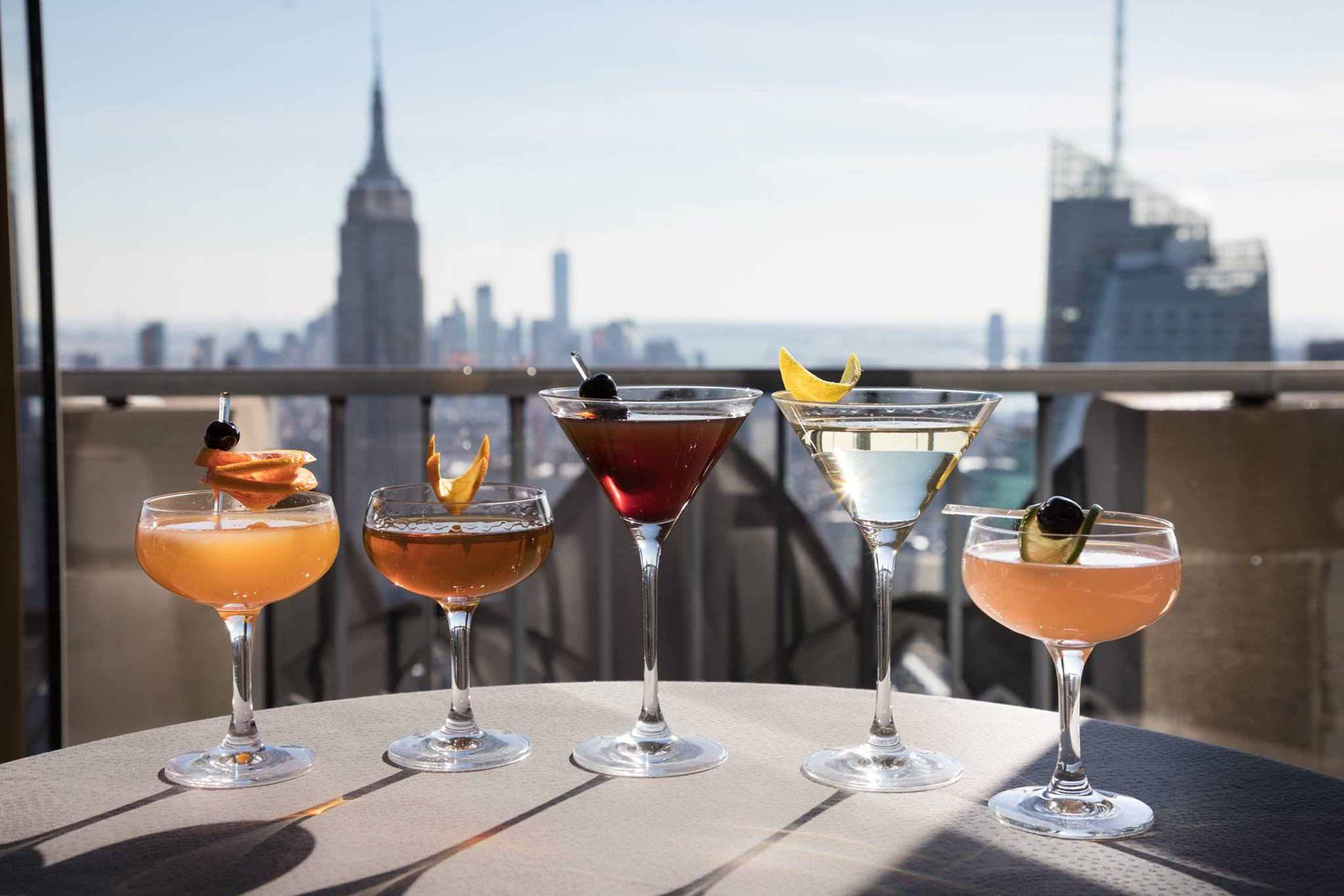 Drinks and a view at Bar SixtyFive