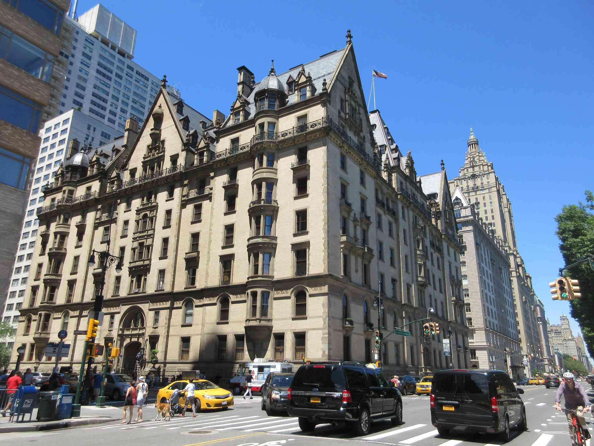 The Dakota Apartment Building Central Park West NYC 1774