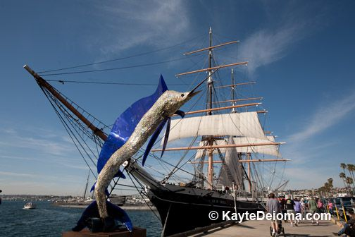 Tall Ship Star of India in San Diego