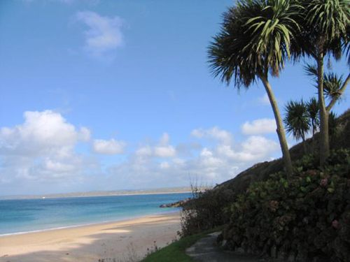 Near St. Ives, Cornwall, in October