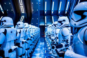 Stormtroopers in Star Wars- Rise of the Resistance