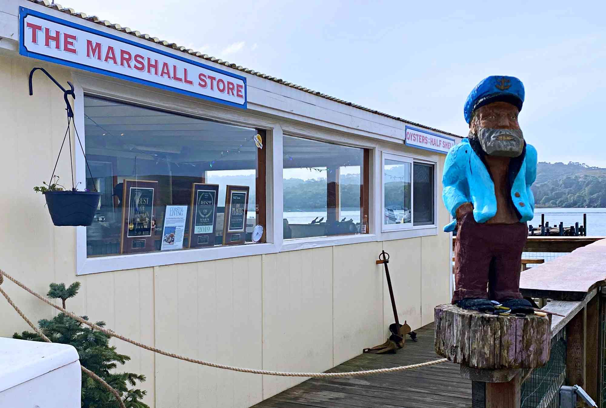 The Marshall Store off Tomales Bay in California