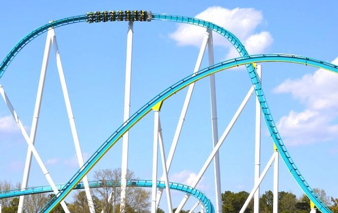The 12 Scariest Roller Coasters in North America