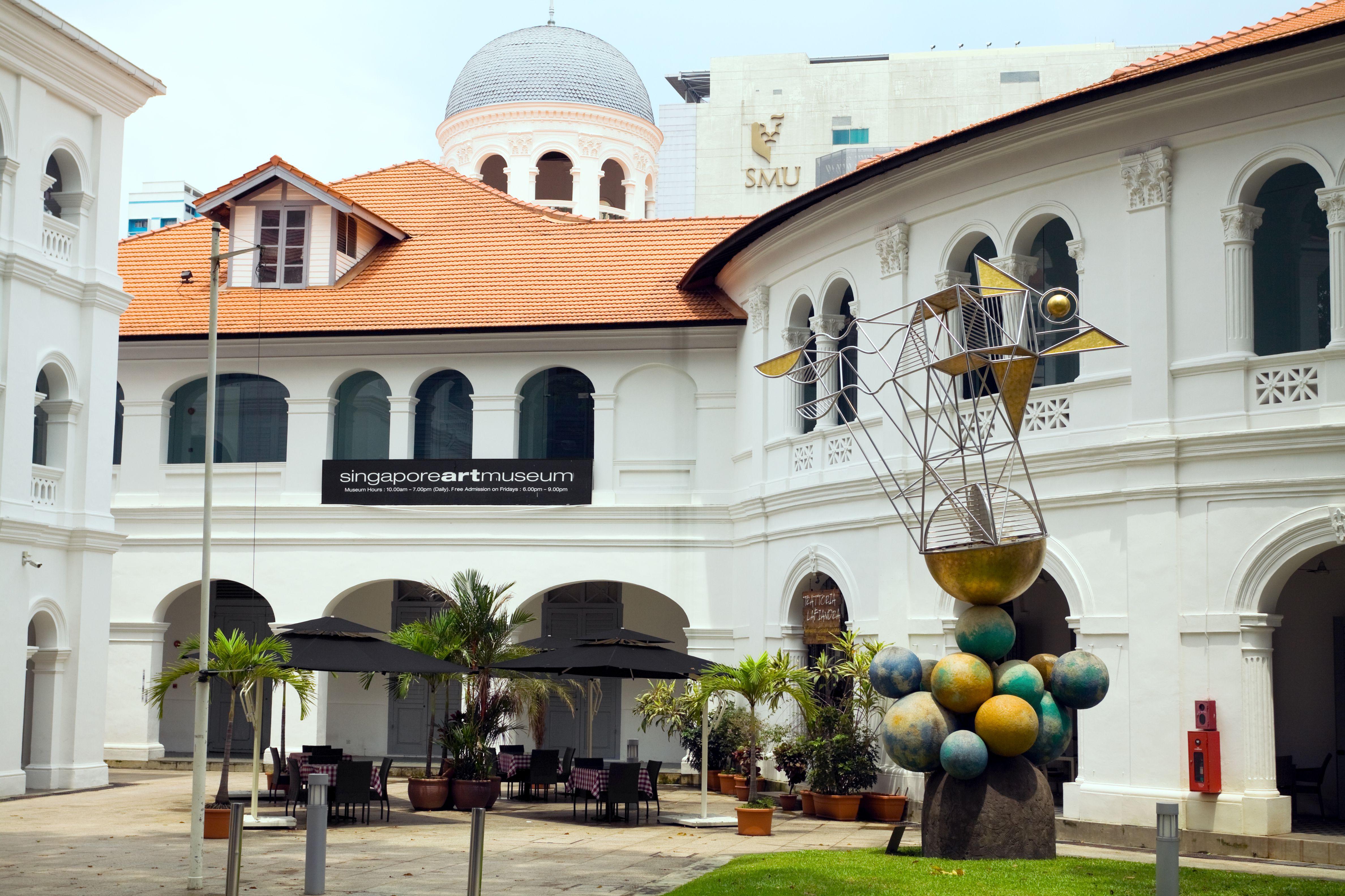 Edificio del Museo de Arte de Singapur