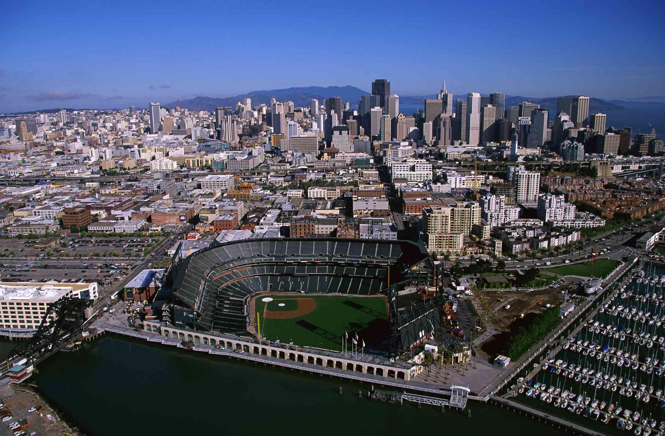 Giants Oracle Stadium in San Francisco