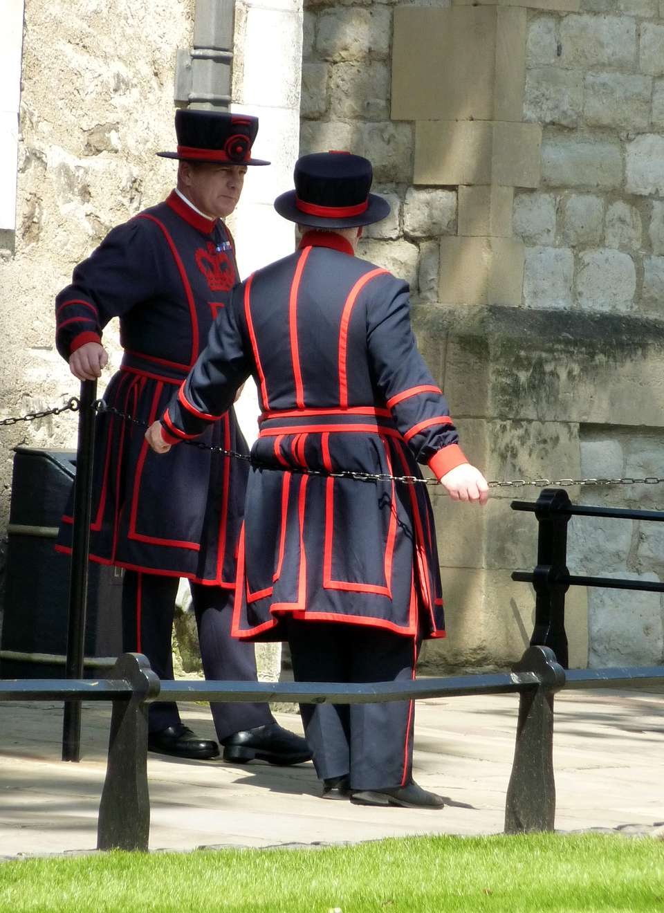 Yeoman Warders at the Tower of London