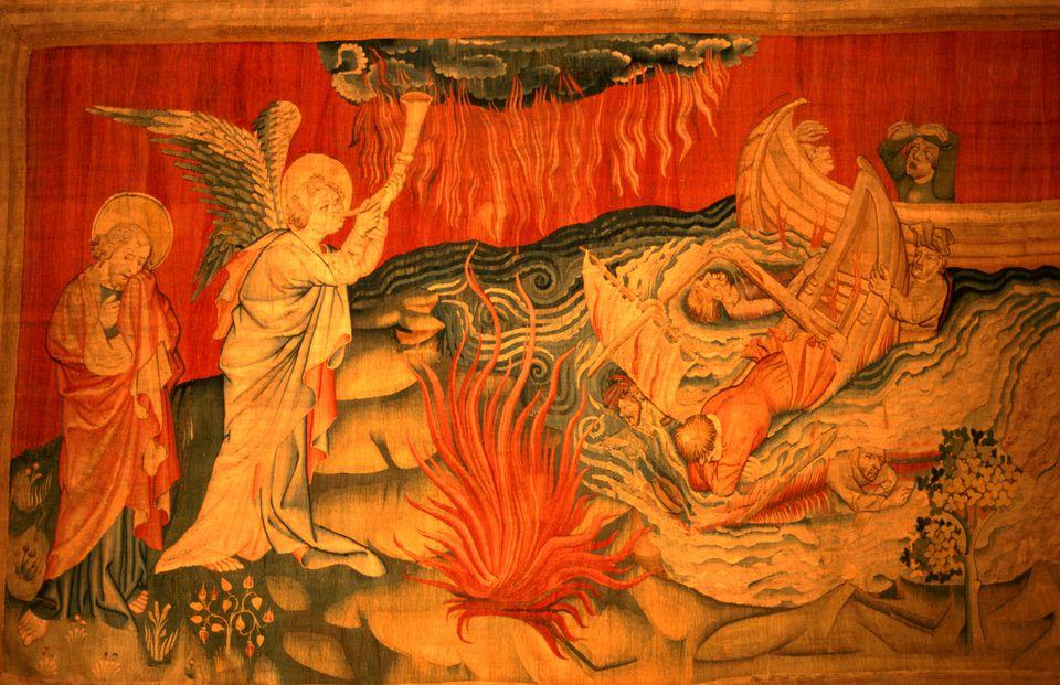 Apocalypse Tapestry in Anjou
