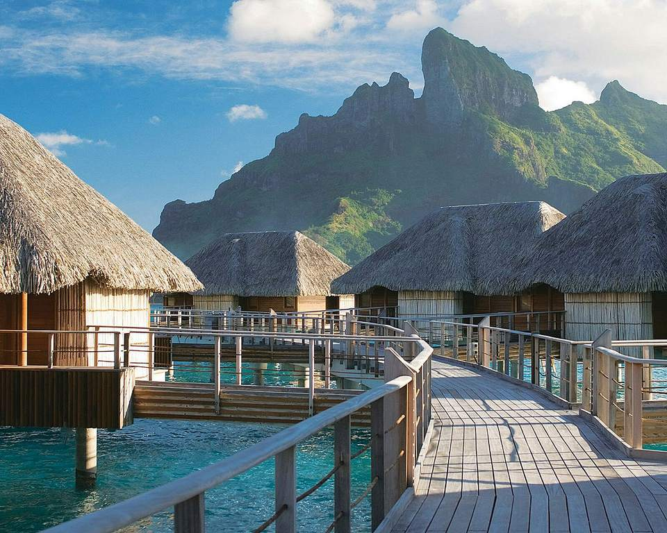 Four Seasons hotel in Bora Bora, French Polynesia