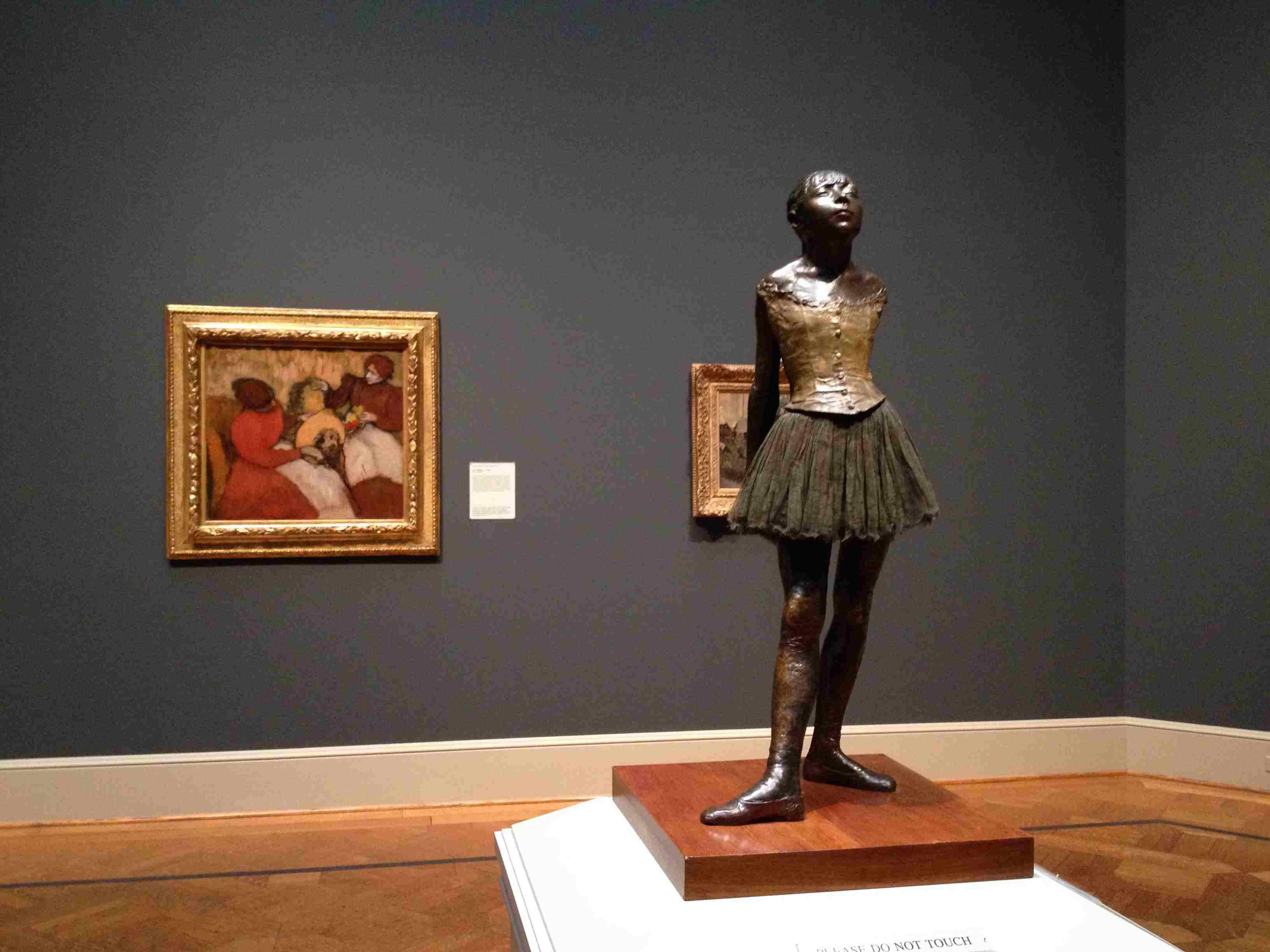 Degas' Little Dancer at the St. Louis Art Museum