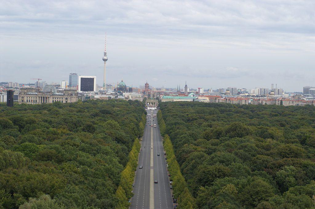 View of Tiergarten, Berlin