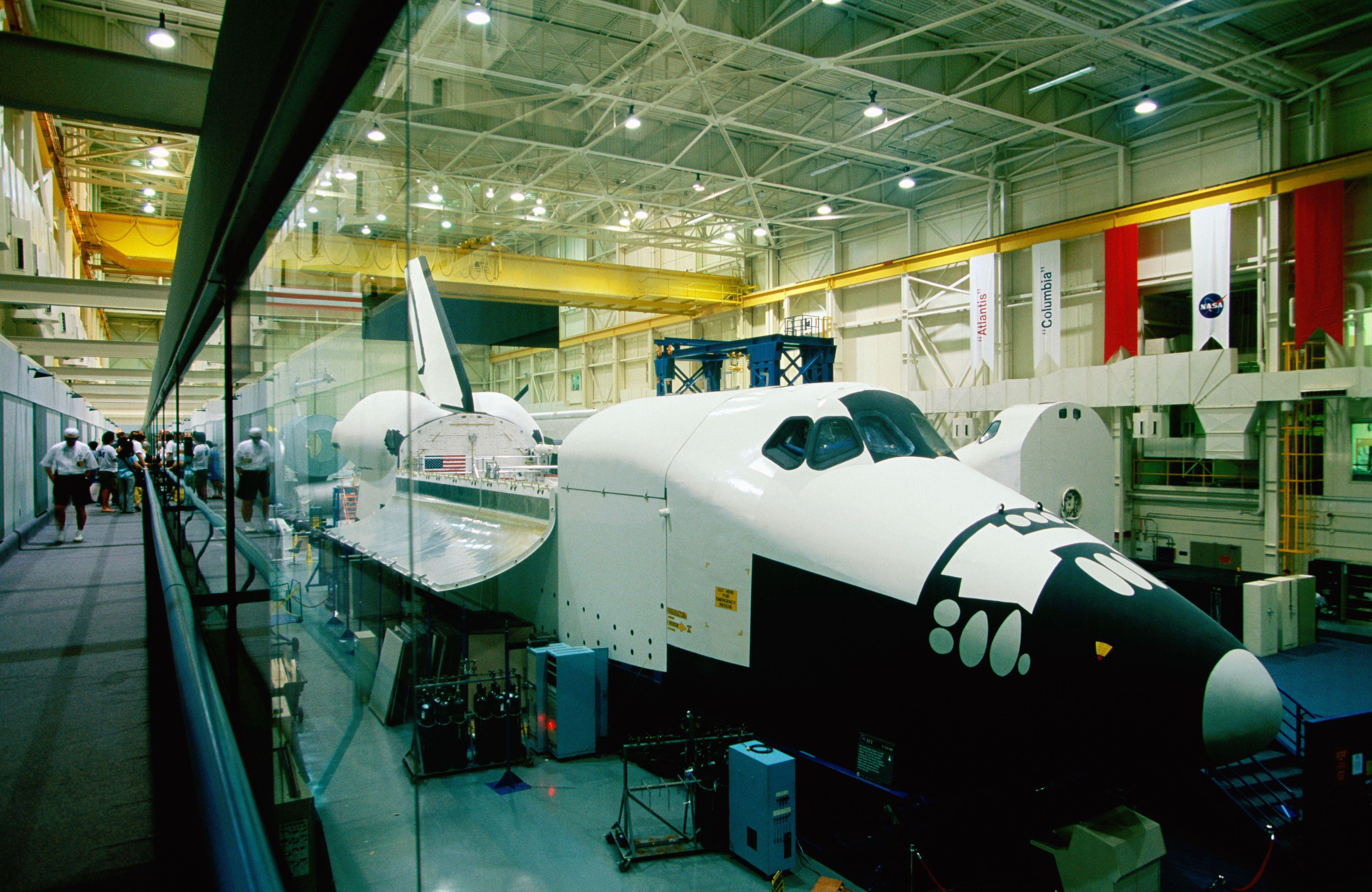 Training space shuttle, International Space Station Program, Johnson Space Center, Houston, Texas
