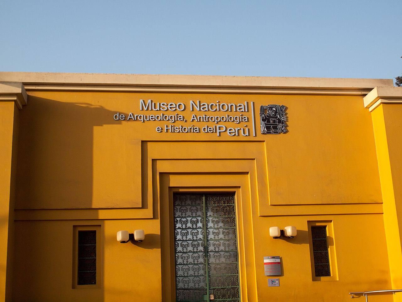 Museo Nacional de Arguelogía, Antropología e Historia del Perú