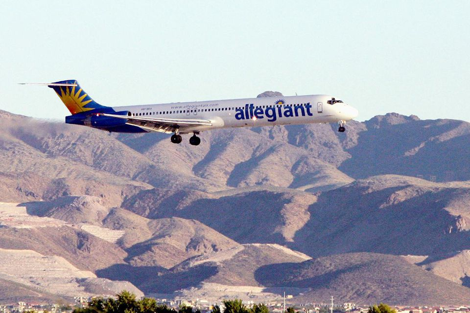 Allegiant is a major low-cost carrier in the United States.
