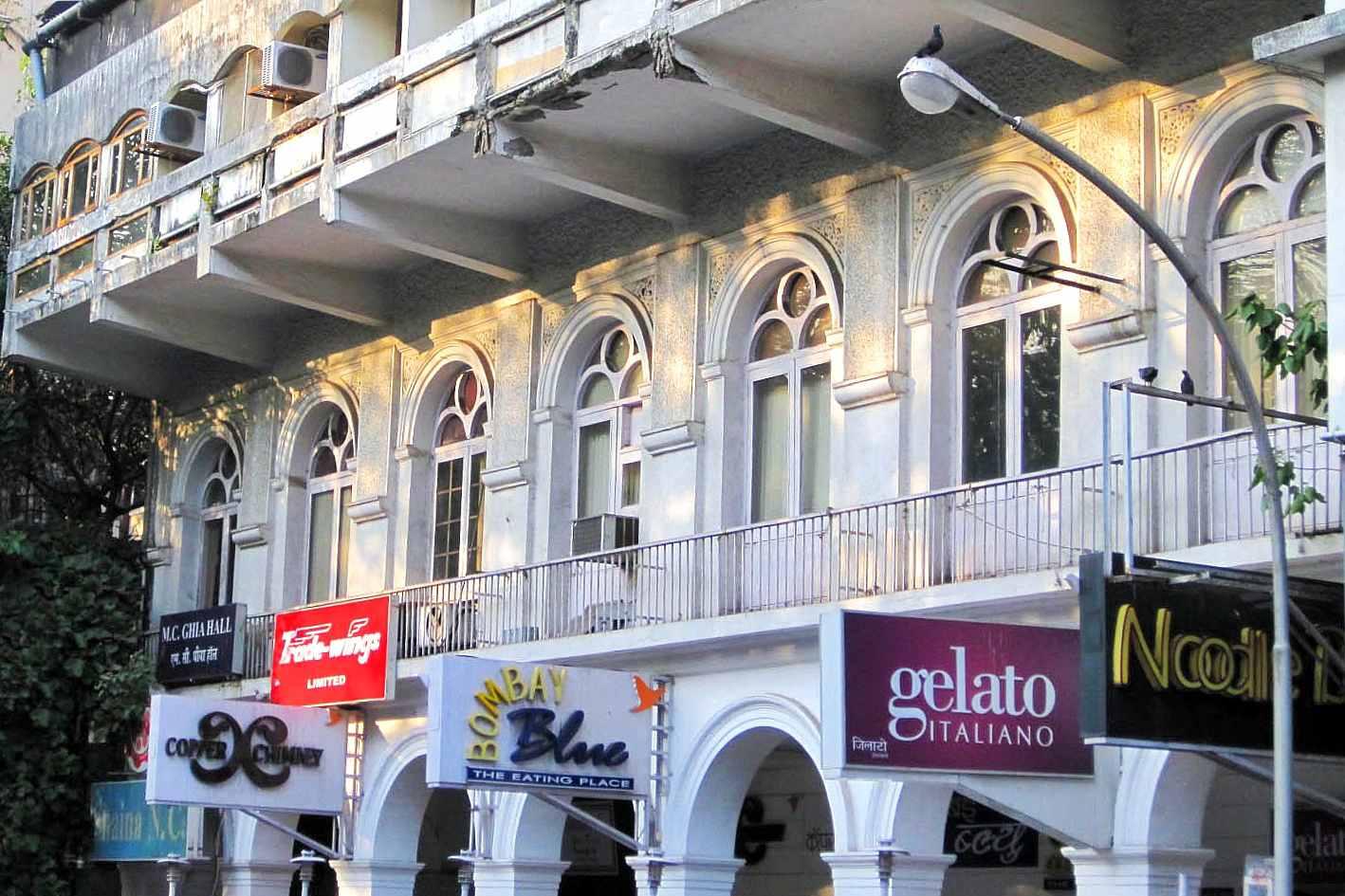 Restaurants in Kala Ghoda.