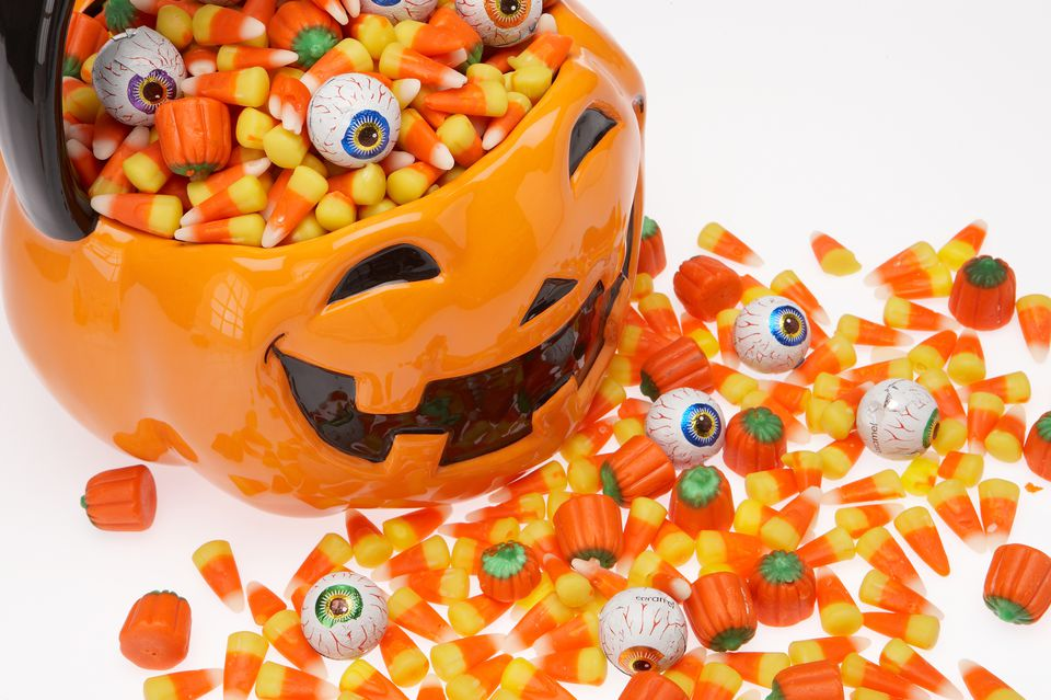 Halloween candy series