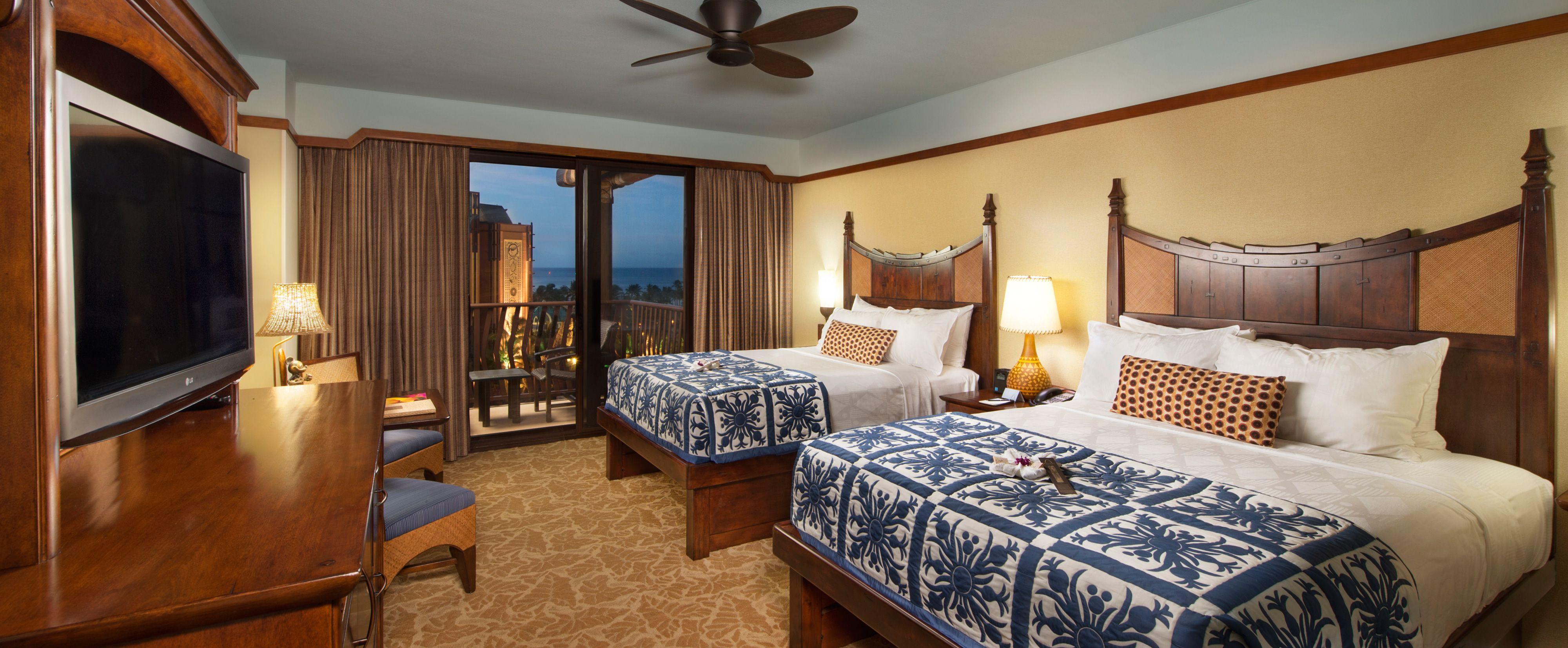 Standard Hotel Room Aulani