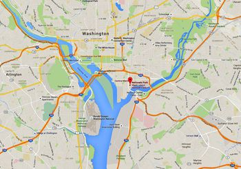 Washington D C Airports Locations Maps And Directions