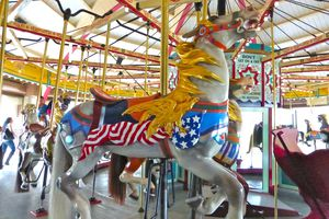 Carousel Horse at Hempstead Lake State Park, NY