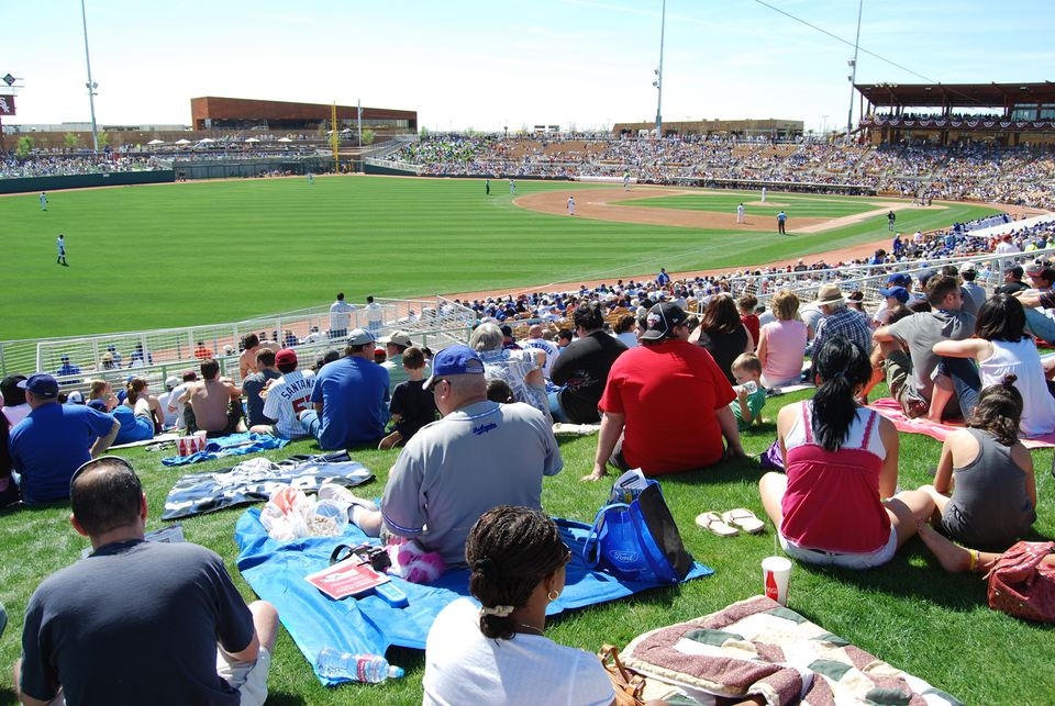 Spring Training Cactus League Stadiums In Arizona