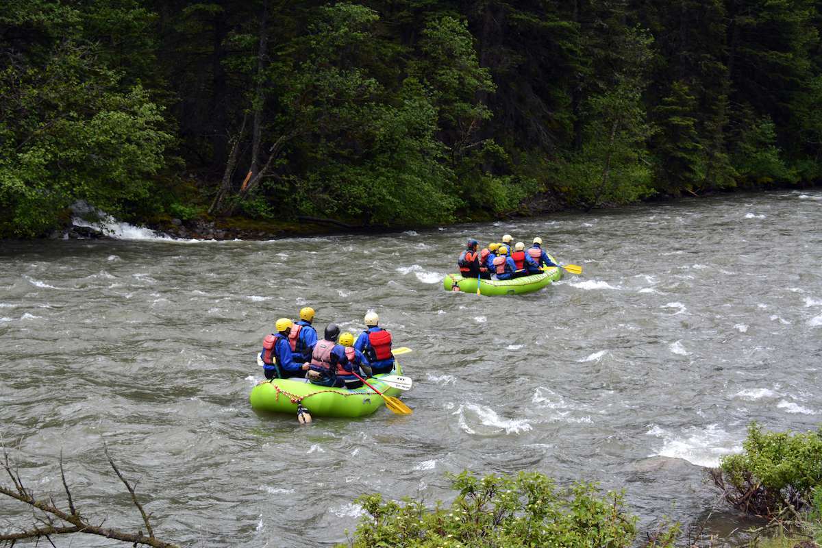whitewater rafting West Yellowstone