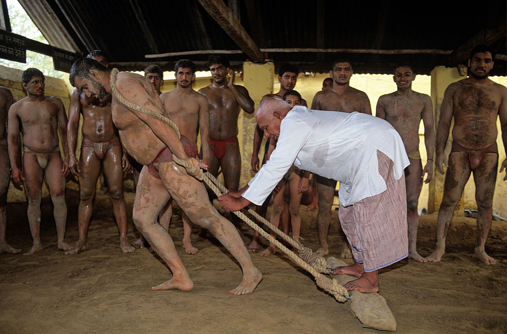Wrestlers School Guru Hanuman