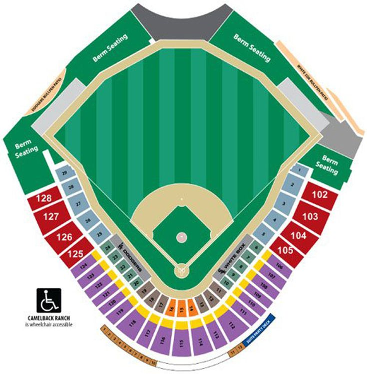 Oakland A S Spring Training Stadium Seating Chart