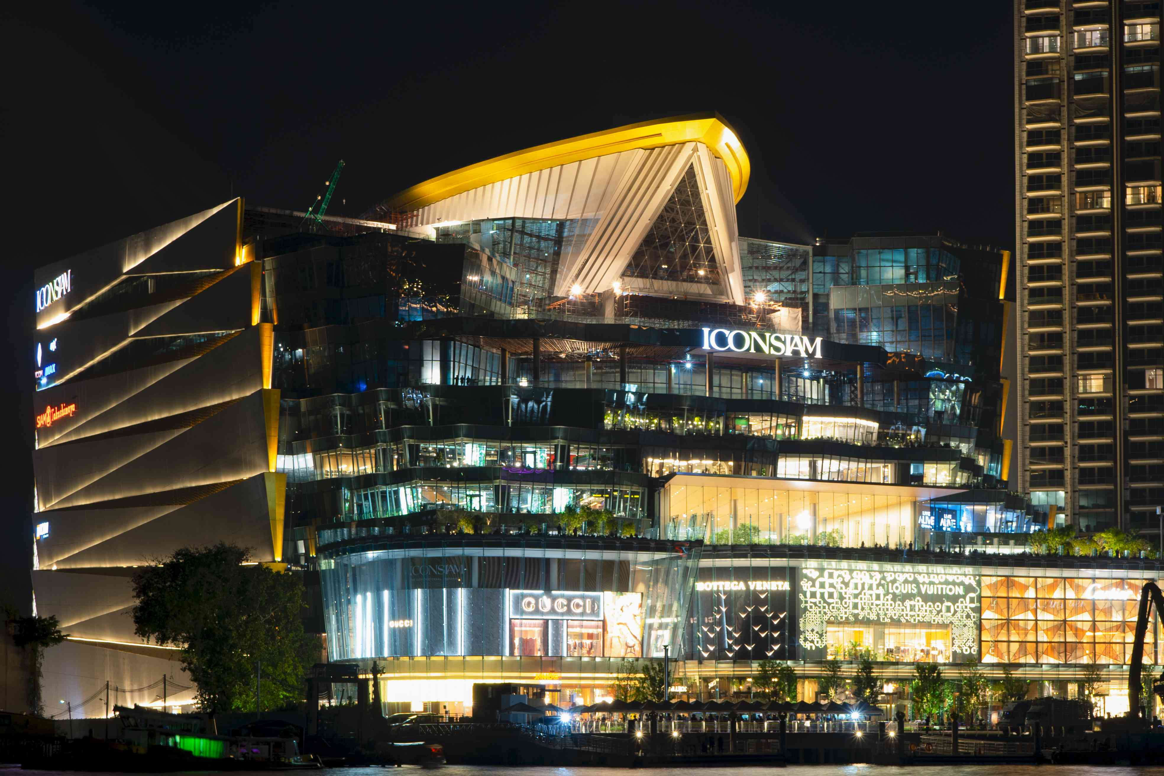 The IconSIAM mall in Bangkok