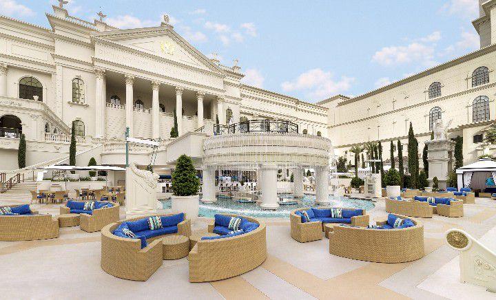 The Garden of the Gods at Caesars Palace Las Vegas