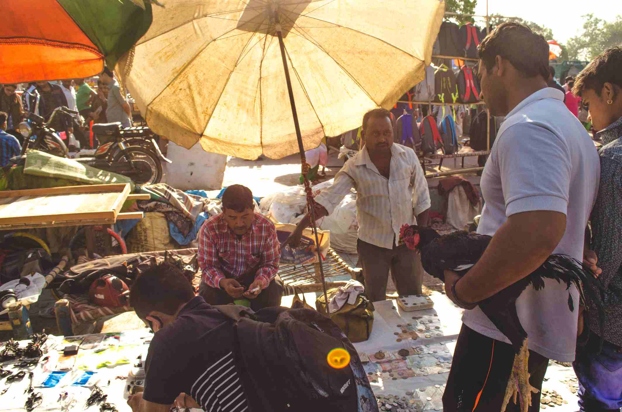Delhi Sunday Chor Bazaar