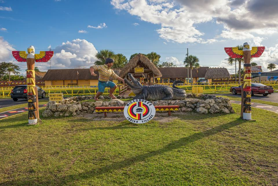 Miccosukee Indian Village, Miami, Florida