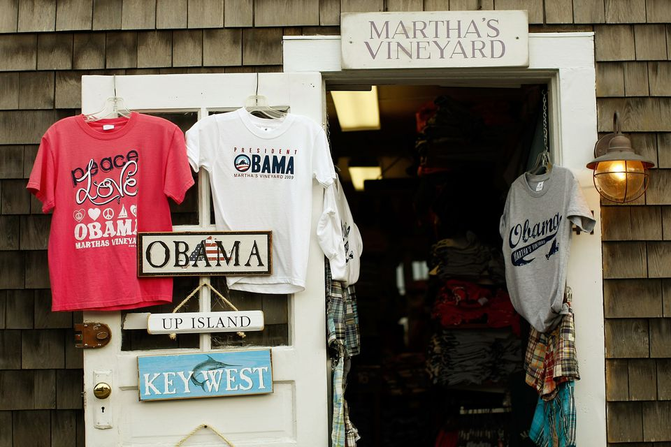 Obama Martha's Vineyard Souvenirs