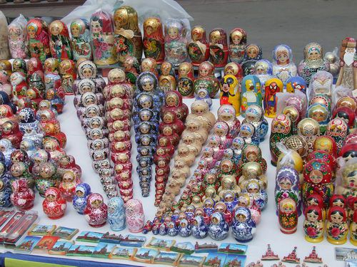 Matryoshka Dolls for Sale in Moscow