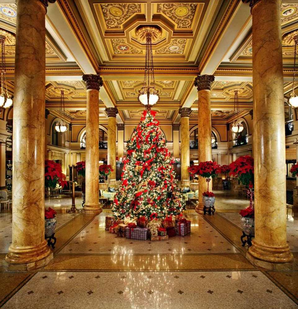 photo willard intercontinental hotel - Hotel Christmas Decorations