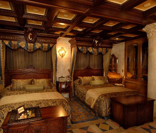 Beds In Cinderellas Castle Suite