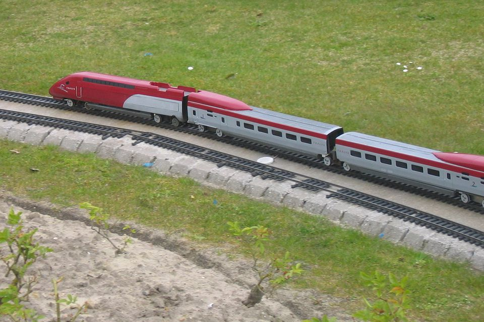 A Thalys high-speed train.