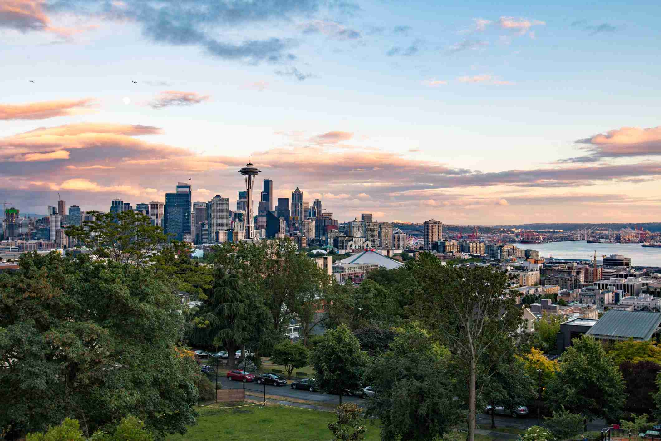 View from Kerry Park Seattle