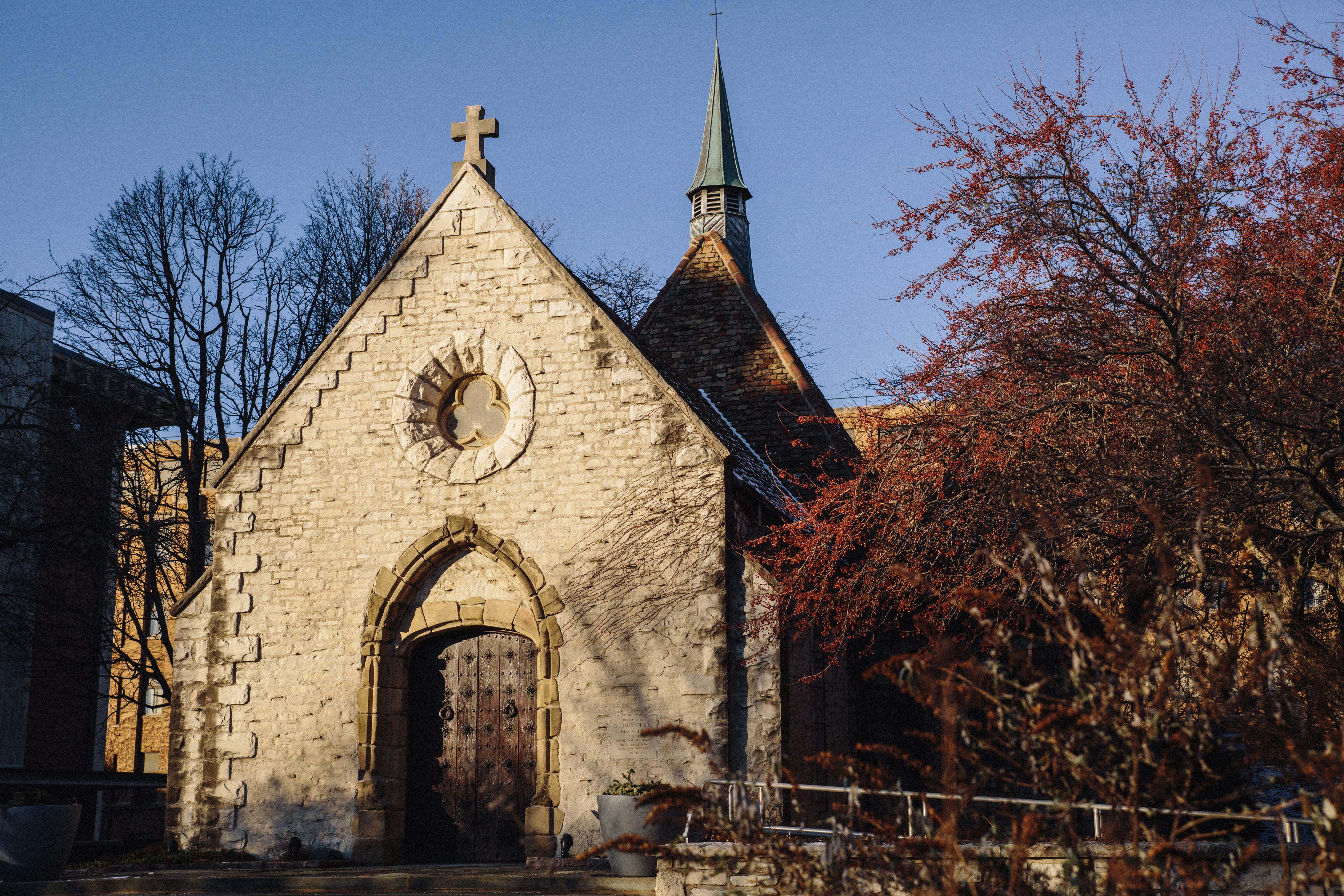 Exterior de la Capilla Juana de Arco