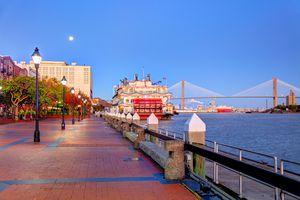 Savannah, Georgia Waterfront
