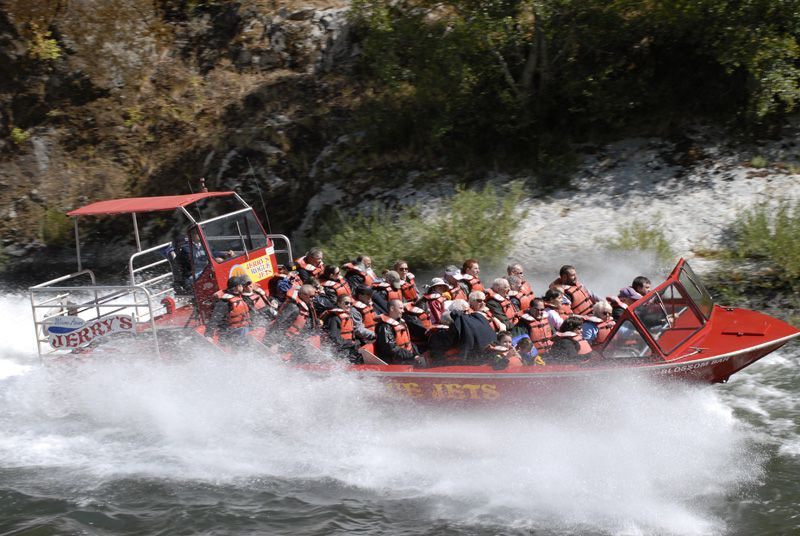 Take A Jet Boat Tour Up The Rogue River