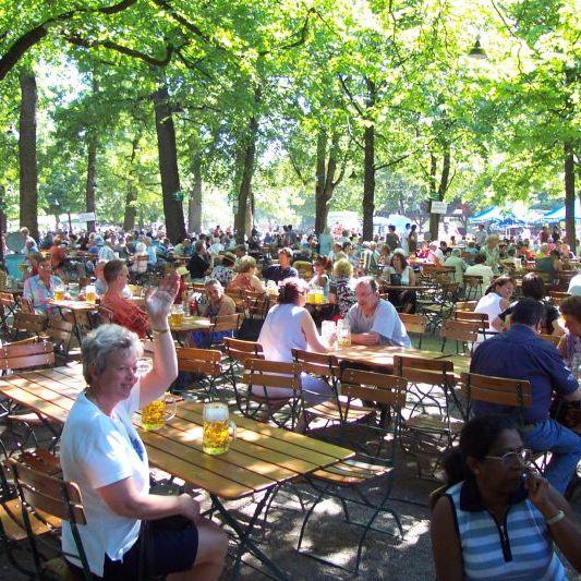 Munich's Best Beer Gardens